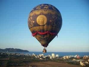 Ballonfahrt Cala Millor