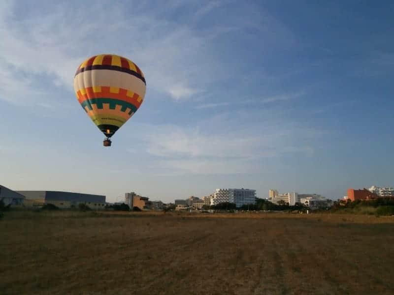 Ballonfahrt Startplatz Cala Millor