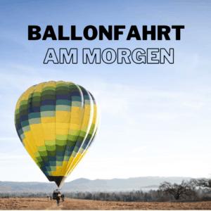 Ballonfahrt auf Mallorca am Morgen