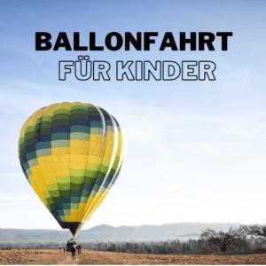 Ballonfahrt auf Mallorca für Kinder (4-11 Jahre)