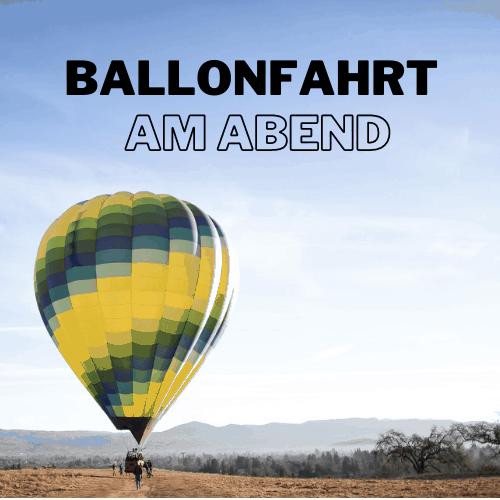 Ballonfahrt auf Mallorca am Abend für Erwachsene Produktbild