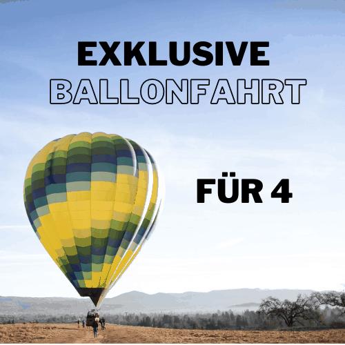 Eklusive Ballonfahrt auf Mallorca am Abend für 4 Personen Produktbild